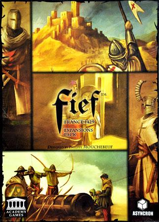 Fief - France 1429 - Erweiterungspack (engl.)