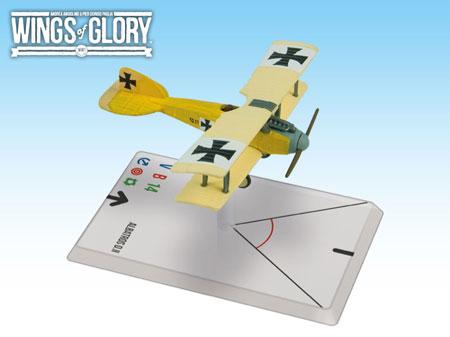 Wings of Glory WW1: Albatros D.II (Szepessy-Sokoll) WGF114A