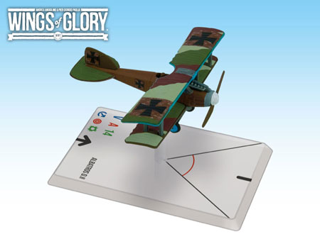Wings of Glory WW1: Albatros D.II (Von Richthofen) WGF114B