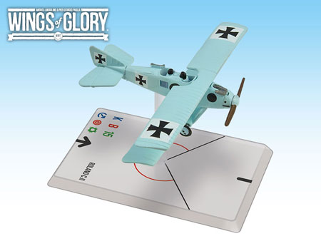 Wings of Glory WW1:ROLAND C.ll (VON RICHTHOFEN) WGF203A