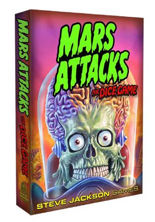 Mars Attacks - Das Würfelspiel