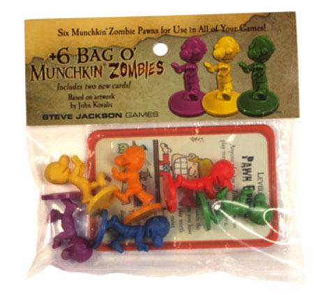6 Bag O Munchkin Zombies