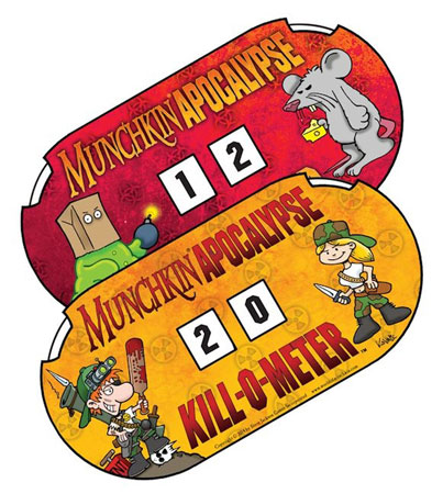 Munchkin Apocalypse Kill-O-Meter (engl.)