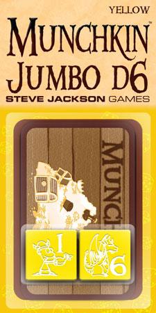 Munchkin Jumbo Würfel D6 (gelb)