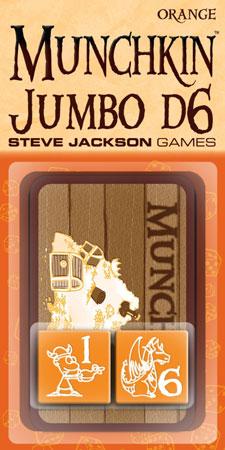 Munchkin Jumbo D6 (orange)