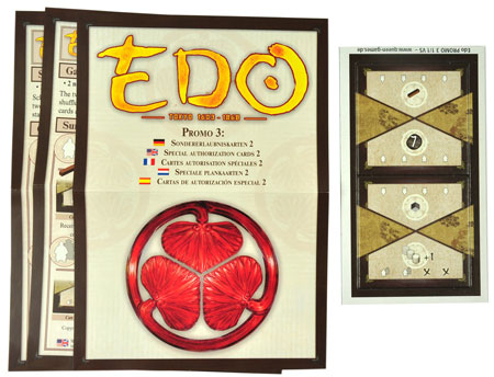 EDO Mini Erweiterung 3: Sondererlaubniskarten 2
