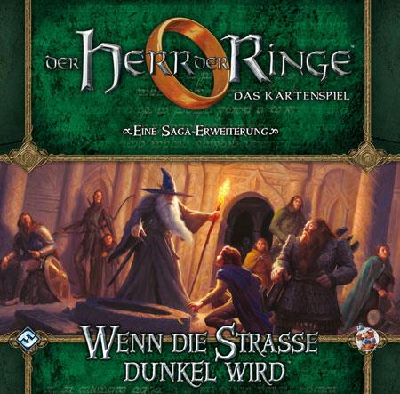 Der Herr der Ringe - Das Kartenspiel: Wenn die Straße dunkel wird (HDR Saga Erweiterung 2)