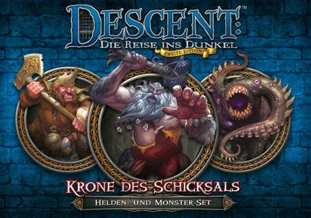 Descent 2. Edition - Krone des Schicksals: Helden- und Monster-Set