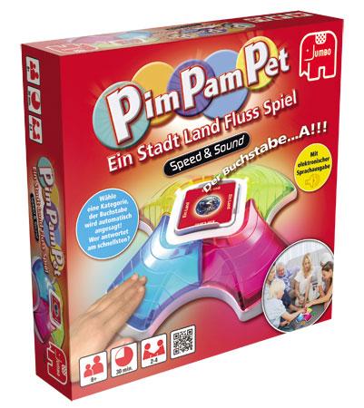 Pim Pam Pet - Ein Stadt Land Fluss - Spiel