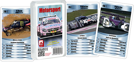 Quartett - Motorsport (Klarsichtetui)