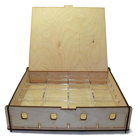 e-Raptor Aufbewahrungsbox (Holz)