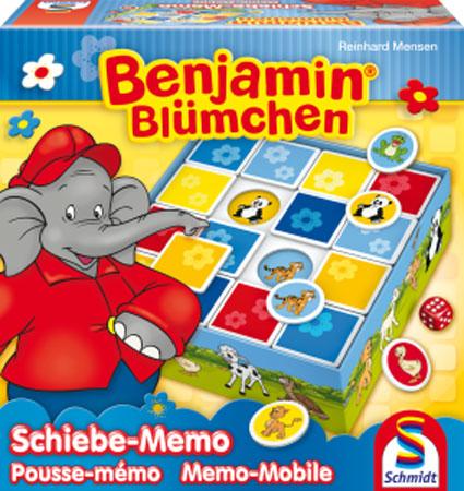 Benjamin Blümchen - Schiebe-Memo