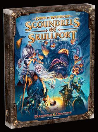 Dungeons & Dragons - Lords of Waterdeep: Scoundrels of Skullport Erweiterung (engl.)