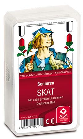 Skat - Senioren - Deutsches Bild, Kornblume