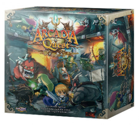 Arcadia Quest - Grundspiel
