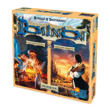 Dominion® - Mixbox (Erweiterungen: Reiche Ernte + Alchemisten)