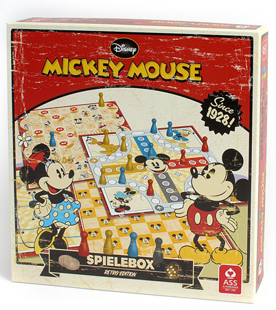 Disney Mickey Mouse Spielesammlung - Retro-Edition