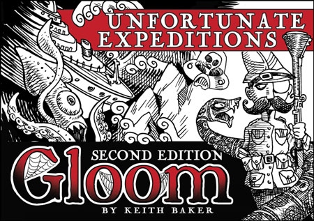 Gloom - Unfortunate Expeditions, 2nd Edition (engl.)