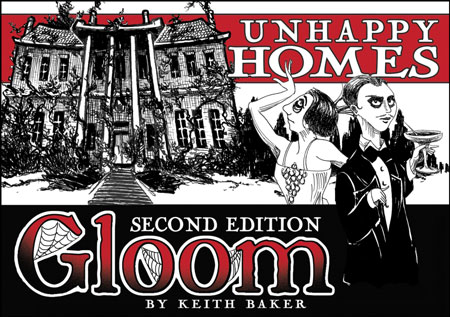 Gloom - Unhappy Homes - 2nd Edition (engl.)