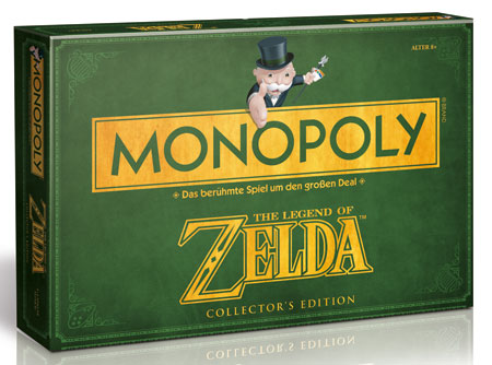 Monopoly Zelda Collectors Edition