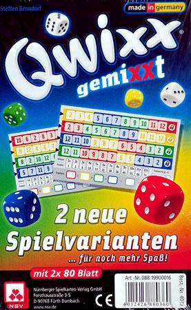 Qwixx Gemixxt - 2 neue Spielvarianten