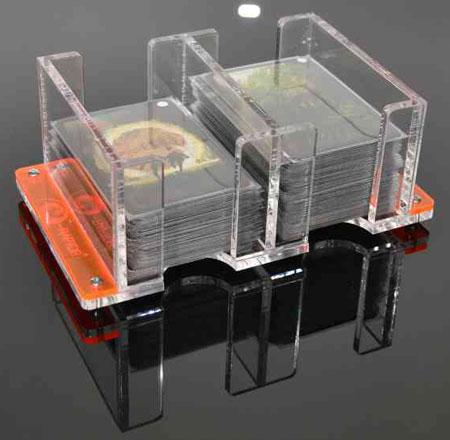 e-Raptor - Kartenhalter 2L - transparent (Plexiglas)