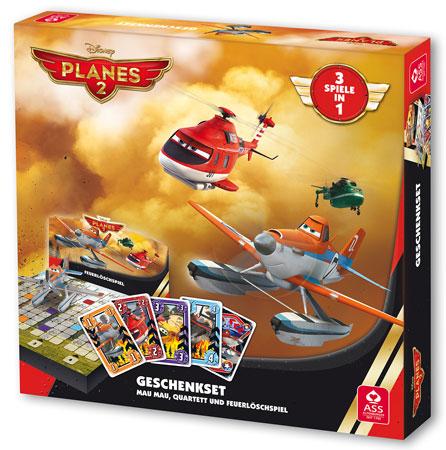 Disney Planes 2 - Geschenkeset (3 Spiele in 1)