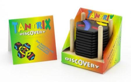 Tantrix Discovery - schwarz mit Holzständer