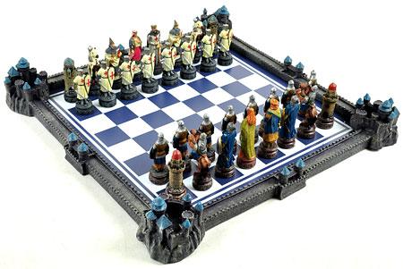 Hochwertiges Schach Set, Collectors Edition