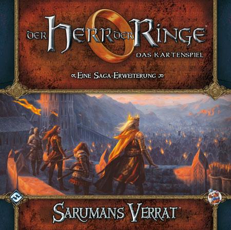 Der Herr der Ringe - Das Kartenspiel: Sarumans Verrat (HDR Saga Erweiterung 3)