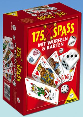 175 x Spass mit Würfeln und Karten
