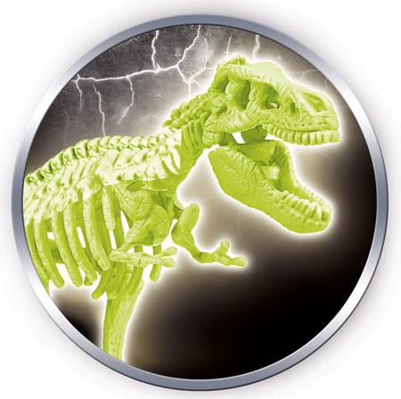 """Galileo - Ausgrabungsset """"T-Rex"""" nachtleuchtend (ExpK)"""