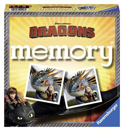 Dragons - Die Drachenreiter von Berk - Memory®