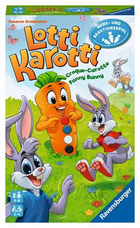 Lotti Karotti - Das Hasenrennen - Mitbringspiel