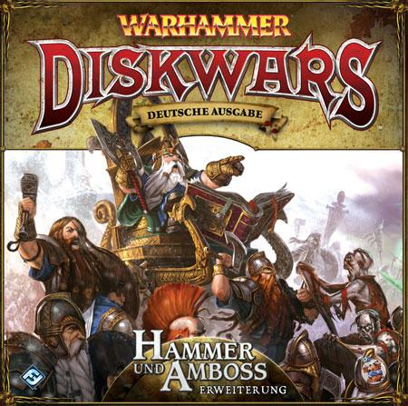 Warhammer: Diskwars - Hammer und Amboss Erweiterung