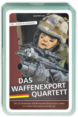 Waffenexport Quartett