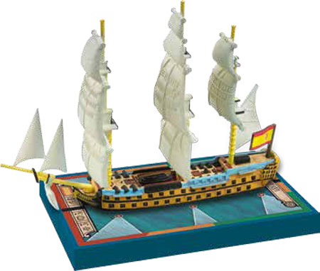 Sails of Glory: Spanish S.o.L Ship Pack - Argonauta 1806 (engl.)