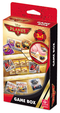 Disney Planes 2 - Game Box mit 3 Spielvarianten