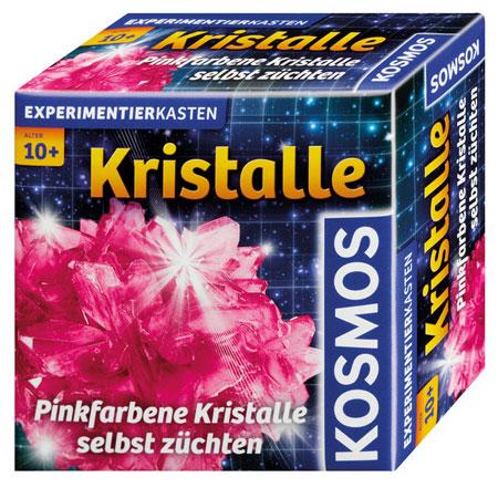 Pinkfarbige Kristalle selbst züchten (ExpK)