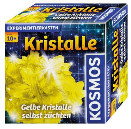 Gelbe Kristalle selber züchten (ExpK)