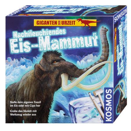 Nachtleuchtendes Eis-Mammut - Ausgrabungsset