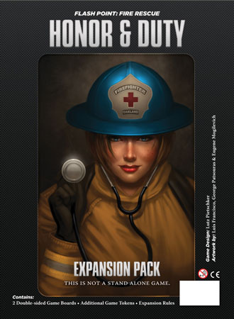 Flash Point: Fire Rescue - Honor & Duty Erweiterung (engl.)