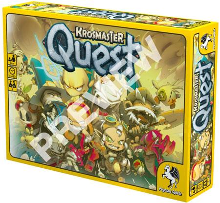 Krosmaster Quest - Brettspiel