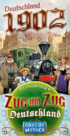 Zug um Zug - Deutschland - 1902 Erweiterung