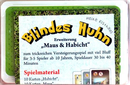 Blindes Huhn - Maus und Habicht Erweiterung