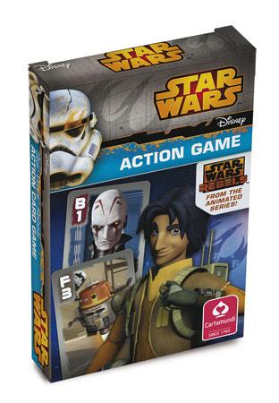 Star Wars Rebels ™ - Quartett & Action Spiel