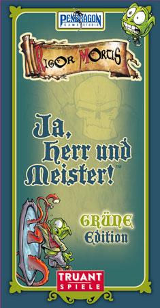 Ja, Herr und Meister - GRÜNE Edition (Neuauflage)