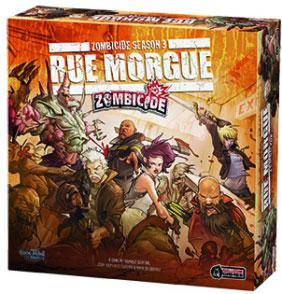 Zombicide - Rue Morgue (Season 3) (dt.)