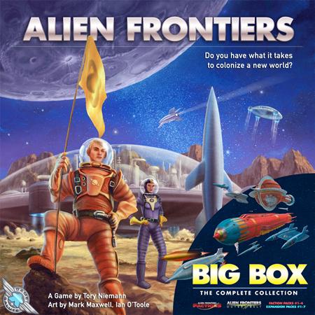 Alien Frontiers - Big Box inklusive dt. Übersetzungskit