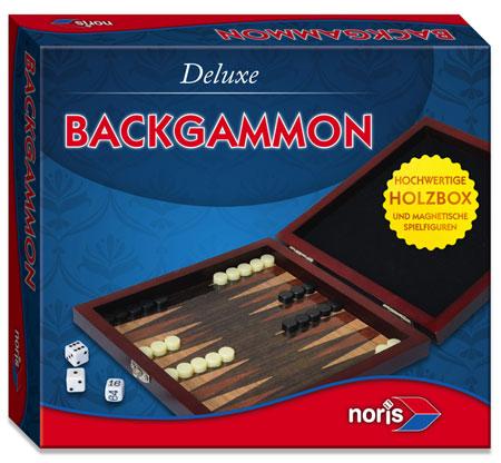Deluxe - Reisespiel Backgammon